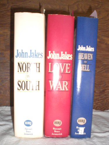 North And South Trilogy - North and South, Love and War, Heaven and Hell - Complete Saga (3 volume set) by Example Product Brand