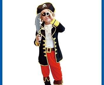 SBL Disfraz de Pirata caribeño para Halloween Disfraz de ...