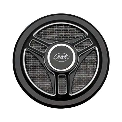 S&S Cycle Tri-spoke Air Cleaner Cover 170-0210