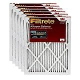 Filtrete 20x25x1, AC Furnace Air Filter, MPR 1000, Micro Allergen Defense, 6-Pack