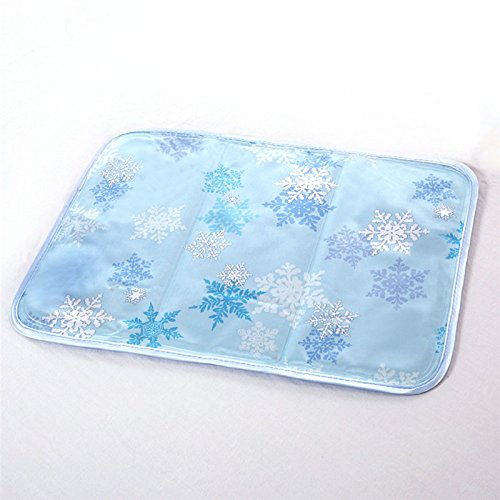 Price comparison product image keebgyy Ice Pad,  Pet Sleeping Cooling Mat, Summer Sofa covers, Car Seat Protector, Instant Cooling and Comfort- No Leaks