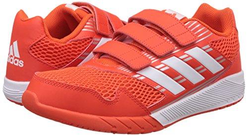 adidas AltaRun CF K - Zapatillas de deportepara niños, Naranja - (ENERGI/FTWBLA/PLAMET), 34