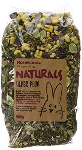 Naturals Rosewood Herb Plus Small Animal Treat (500g) (Hamster Plus)