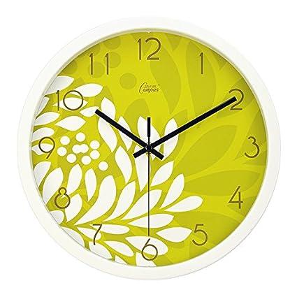 weian los Restos y moderno creativo IKEA Salón Dormitorio Relojes de pastoralen pared Reloj Mute
