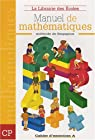 Manuel de mathématiques CP : Cahier d'exercices A par Paillard