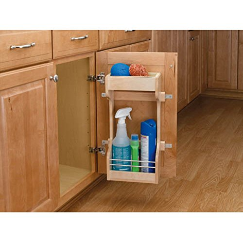 Rev-a-Shelf Door Storage Cleaning Organizer by Rev-A-Shelf