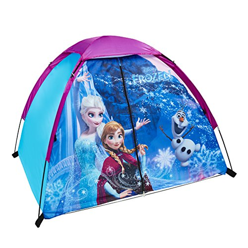 (Exxel Outdoors Disney Frozen Play Tent, Purple)