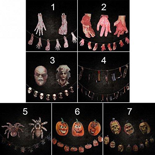 [Decoration Horrible Scary Props Hanging Halloween Haunted House Yard Scary Bar Decor -Pier 27] (Halloween Animatronics Sale)