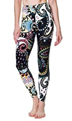 VIV Collection's best-selling printed basic leggings are made of premium material. They will add a fun flair whether you are at work or relaxing on the weekends!These leggings are perfect for wearing under a dress or tunic, but the wonderful ...