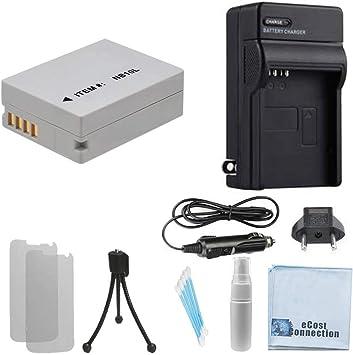 Cámara de batería cargador dual para Canon PowerShot sx40 hs sx50 hs nb-10l