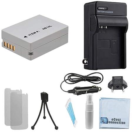 Amazon.com: NB-10L batería, de alta capacidad/Home Cargador ...