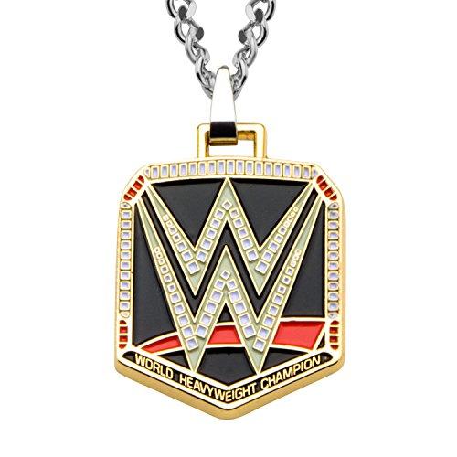 WWE Jewelry Logo Zinc Men's Pendant Necklace by WWE Jewelry