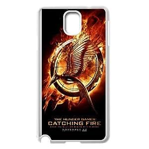 The Hunger Games 005 funda Samsung Galaxy Note 3 Cubierta blanca del teléfono celular de la cubierta del caso funda EVAXLKNBC15357