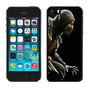 Beautiful iPhone 5C Case ,Unique And Lovely Designed With mortal kombat scorpion hero costume iPhone 5C Phone Case