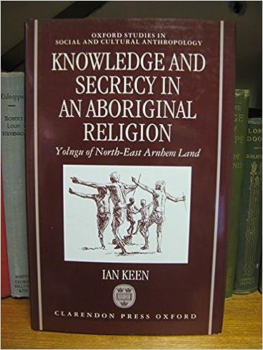 Descargar Libro En Knowledge And Secrecy In An Aboriginal Religion De PDF