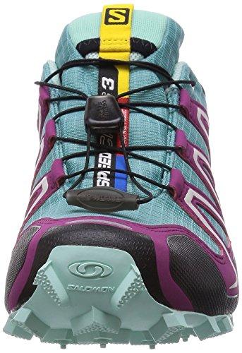 SalomonSpeedcross 3 GTX - Zapatillas de Running para Asfalto Mujer Azul - Blau (Opaline Blue/Igloo Blue/Mystic Purp)