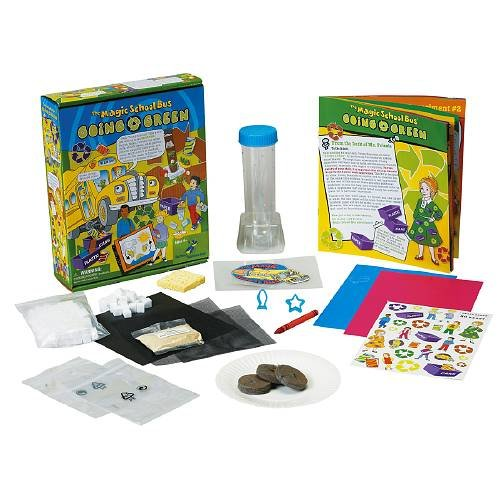 Young Scientists Club The Magic School Bus - Going Green Ages 5+-1 ea