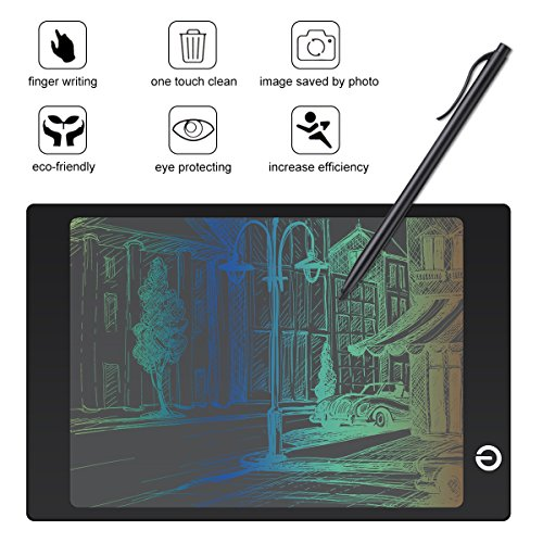 Electronic Drawing Tablet 9.7 Inch Handwriting Graphic Drawing Board Colorful Drawing Board LCD Kids Writing Board Gift for Kids