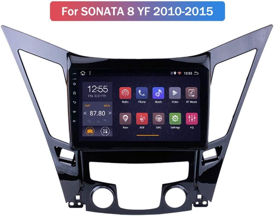 Hp Camp Android 9 1 Octa Core Navigationsgerät Navi Für Hyundai Sonata 8 Sonata Yf 2010 2015 Eingebaute Rückfahrkamera Carplay Unterstützt Bluetooth 5 0 Swc Online Offline Gps Wifi 2g 32g Sport Freizeit
