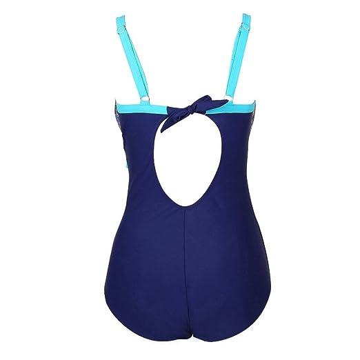5648473e2ddfd Sexy Panyan Womens One Piece Plus Size Swimwear Push Up Monokini Print Swimsuit  Bathing Suit at Amazon Women's Clothing store: