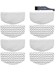 I clean 8 packs Bissell Steam Mop Pads Replacement for 1940 1440 1544 1806 2075 Series,Compatible with bissell 19402 19404 19408 19409 1940A 1940F 1940Q 1940T 1940W B0006 B0017, Microfiber Washable, Reusable Steam Mop Pads