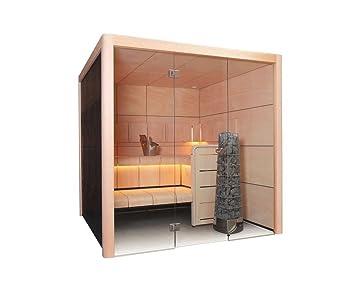 Harvia claro sauna 207 x 207 cm rectangular de chapa de madera de placas de entre Kivi estufa de 207 x 159,5 cm: Amazon.es: Bricolaje y herramientas