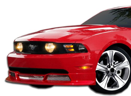 Extreme Dimensions Duraflex Replacement for 2010-2012 Ford Mustang V6 Racer Front Lip Under Spoiler Air Dam - 1 - Racer Ford Mustang V6