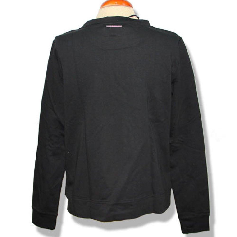 Sweatshirt Medium Black Sleeve Women's Long Jeans Pepe Amazon xHvaqnBw