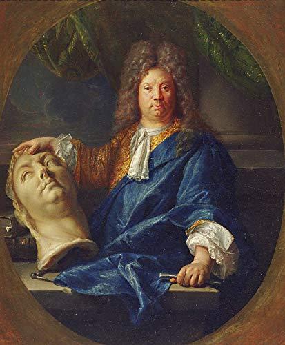 Pierre Mignard Portrait of Antoine Coysevox 1701 Minneapolis Institute of Arts 30