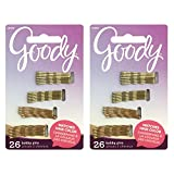 Goody Colour Collection Blonde Mini Bobbies (1-1/4 Inches), (26 Pieces) (Styles May Vary) ([2-Pack)