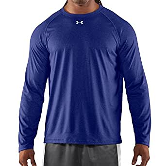 Under Armour Men's UA Locker Long Sleeve T-Shirt Small Royal