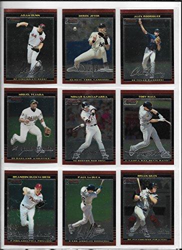 2002 Bowman Chrome Baseball & Chrome Draft Complete Sets In (2002 Topps Chrome Baseball)