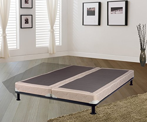 Continental Sleep Hollywood Collection 4'' Fully Assembled Box Spring for Mattress, King by Continental Sleep