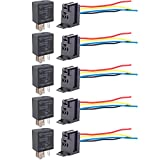 ESUPPORT Car Heavy Duty Relay Switch 12V 30A SPDT