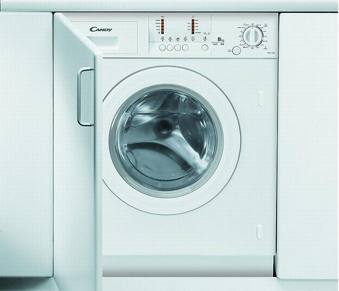 Candy empotrable de lavadora CWB 1308/L, eficiencia energética: A ...