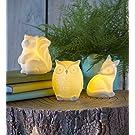 Magic Cabin Ceramic Woodland Animal Night Lights