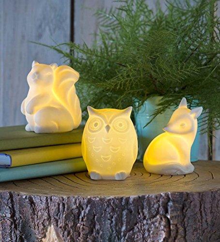 magic-cabin-ceramic-woodland-animal-night-lights