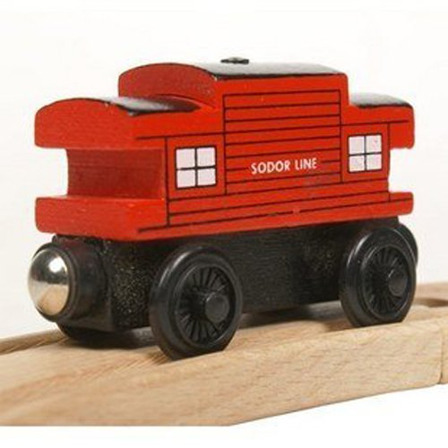 Thomas & Friends Diecast Wooden Trains & Cars Toys - SODOR LINE RED (Loose)