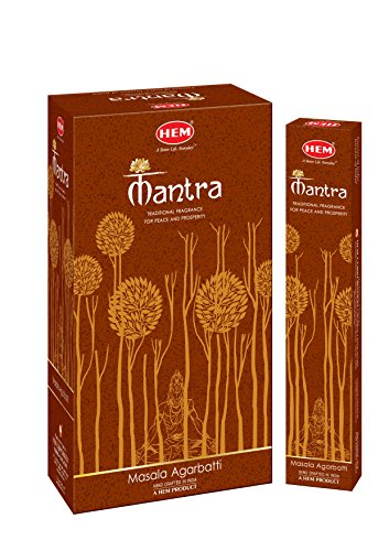 HEM Incense Newly launched Exclusive Fragrance Mantra Masala Agarbatti Sticks (Set of 12 Boxes, 15 Grams Each)