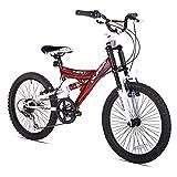 Kent Super 20 Boys bicicleta (20-Inch Wheels), Red/negro/White