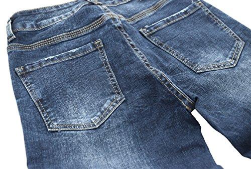 Jeans 34 Recto A Boyfriend Mujer Skinny 2 Bootcut Nina Slim Talla 42 Pantalones O Carter Denim Vaqueros Straight Azul 6BqTwvST