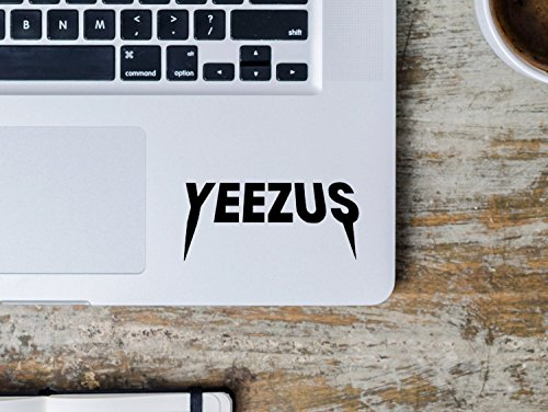 Price comparison product image Yeezus Yeezy Logo Kanye West MacBook Laptop Decal - The Life Of Pablo - TLOP - Yeezy Shoes