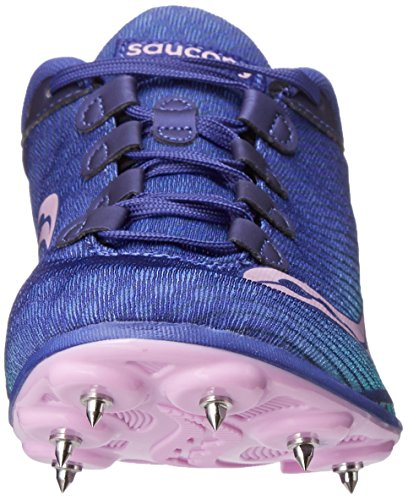 Saucony Womens Vendetta Spike Shoe Blue/Teal/Pink nlXWBnX