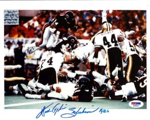 Walter Payton Autographed 8x10 Photo Chicago Bears