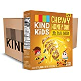 KIND Kids Granola Chewy Bar, Honey Oat, Gluten Free, Dairy Free, 0.81oz Bars, 6 Count (Pack of 8)