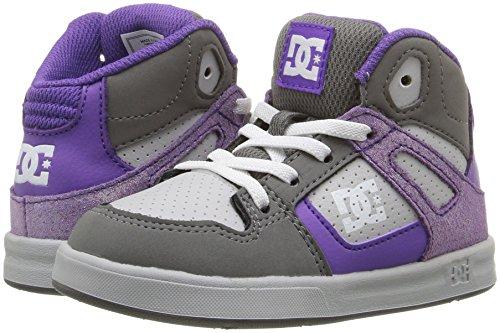 Toddlers Rebound Bambini Dc Sneaker Se grey Ul Grey white p75xxOwd
