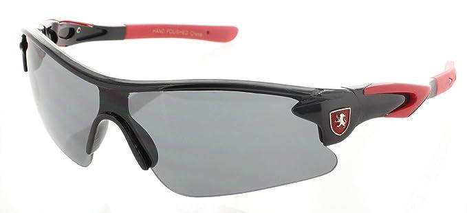 bc15b4981e21 Amazon.com: Kids Boys Sport Sunglasses Performance Glasses for All Sports -  Baseball, Running, Cycling: Clothing