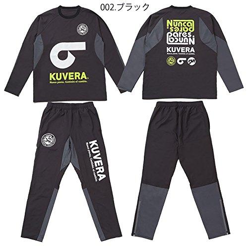 KUVERA/クベラ Notableストレッチピステ&Flexibleストレッチピステパンツ(917506-917507) (ブラック, O) B078WD96Z6