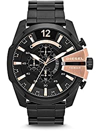 Men's DZ4309 Mega Chief Black Ip Watch