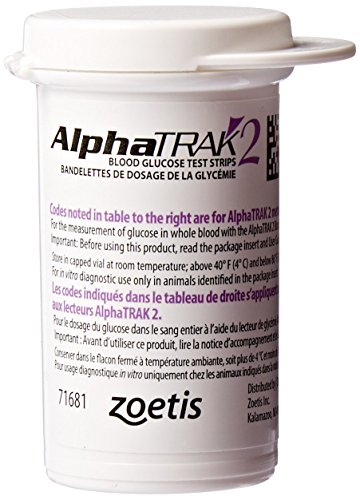 AlphaTRAK 2 Blood Glucose Test Strips, 50 (System Test)